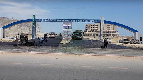 Finance Trade Business Avenue Airport Road Gwadar