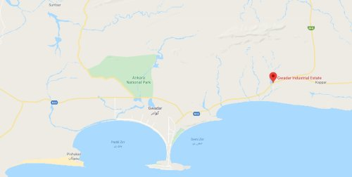 GIEDA Gwadar Location