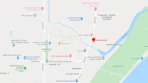 Muscat Center Gwadar Commercial Plots