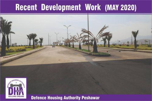 DHA Peshawar Development Work May 2020-8