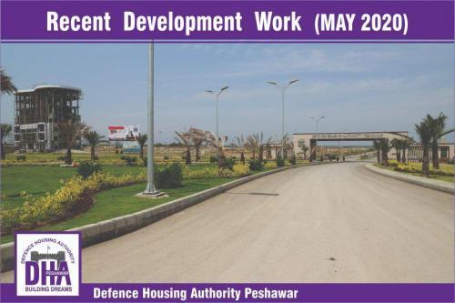 DHA Peshawar Development Work May 2020-9