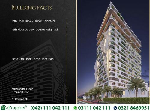 Autograph Lahore Building Facts