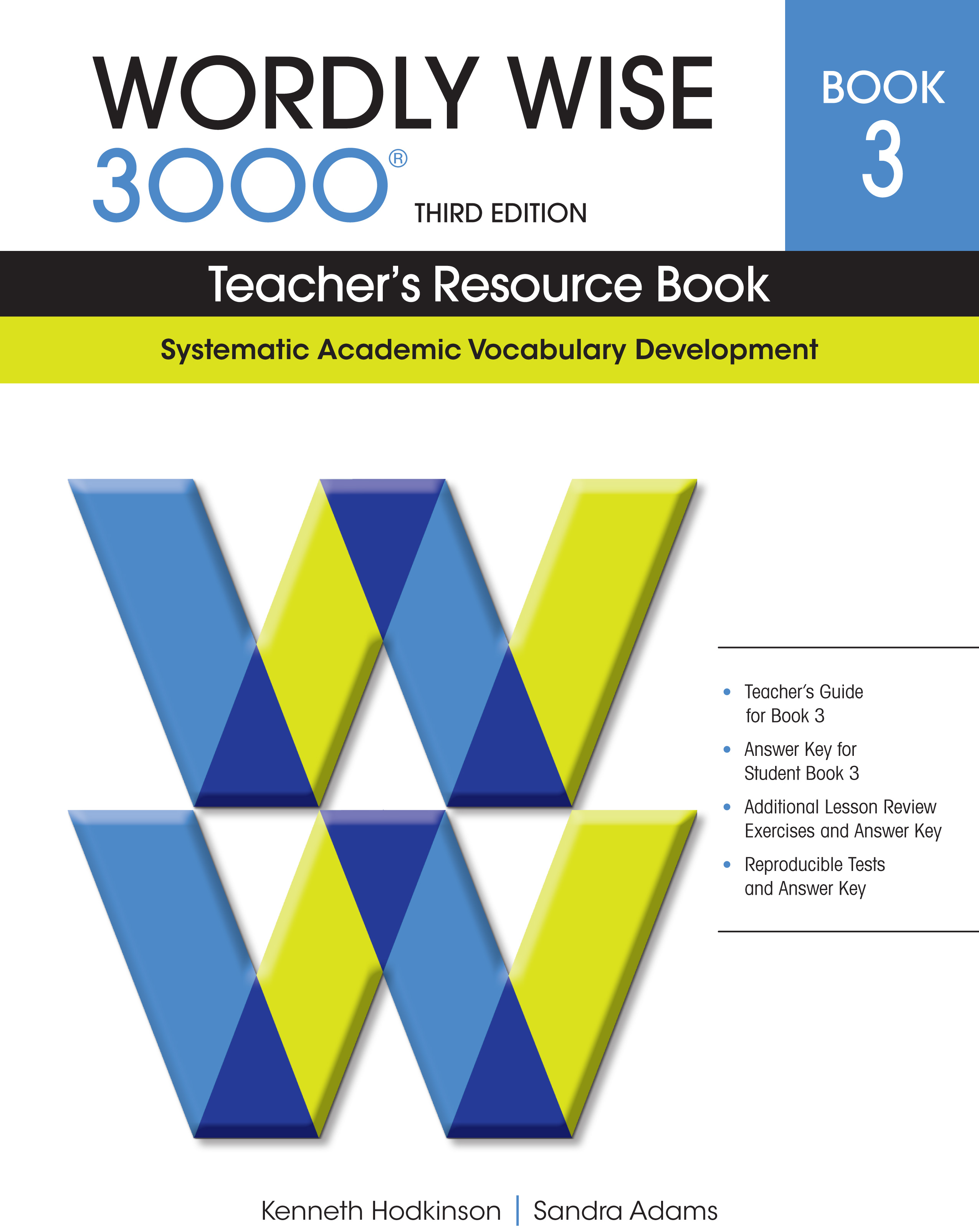 Wordly Wise 3rd Edition Teacher S Resource Book 3