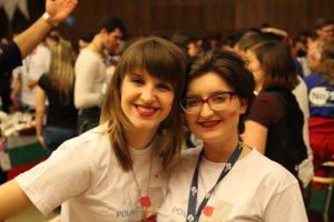 Two polish LSs, me and my successor, Aleksandra Tyl