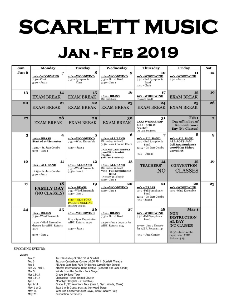 EP Scarlett Calendar Jan-Feb 2019