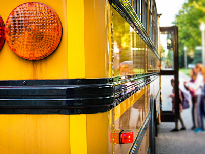 School Bus - Public Schools Week