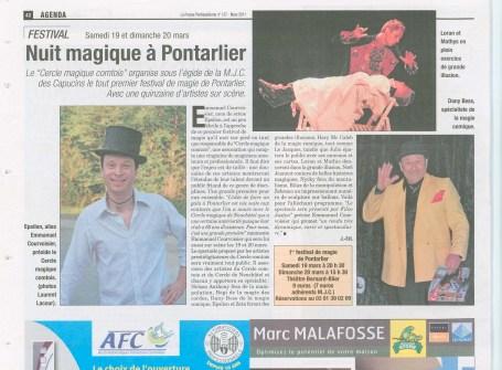 La Presse Pontissalienne - Mars 2011