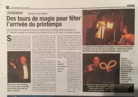 La Presse Pontissalienne - Mars 2015