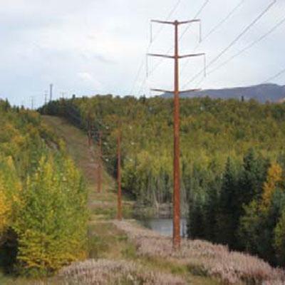 Right-of-Way Eklutna Transmission Line
