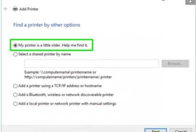 Add Local Printer and Scanner in Windows 10