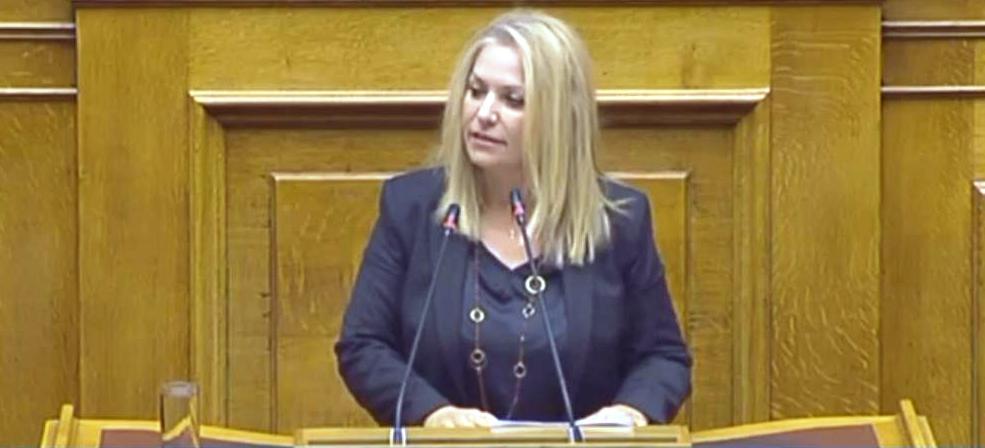 Η βουλευτής Άννα Μάνη για τις Τροποποιήσεις του Ποινικού Κώδικα και του Κώδικα Ποινικής Δικονομίας