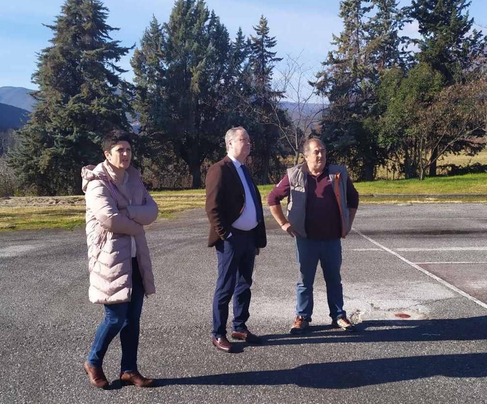 Επίσκεψη του Δημάρχου Κατερίνης σε σχολικές μονάδες όλων των βαθμίδων: Τα σχολεία είναι και χώροι άθλησης