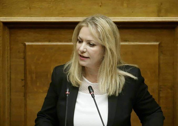 Άννα Μάνη: «Στεκόμαστε δίπλα στον Έλληνα αγρότη, κτηνοτρόφο και αλιέα»