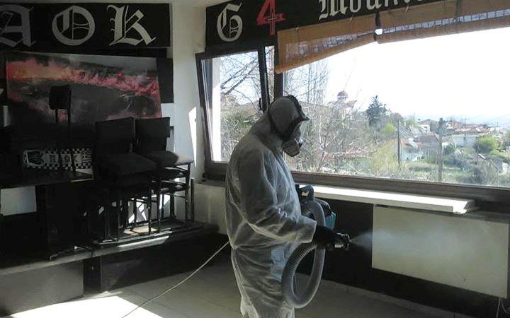 Δήμος Κατερίνης: Απολύμανση σε δημόσιους χώρους και κτίρια