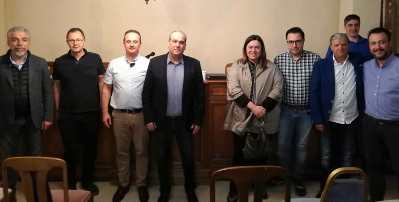 Συνάντηση Ε.Ξ.Ε. Πιερίας με τον Ιατρικό Σύλλογο – Συνεργασία για την ασφάλεια της τουριστικής δραστηριότητας