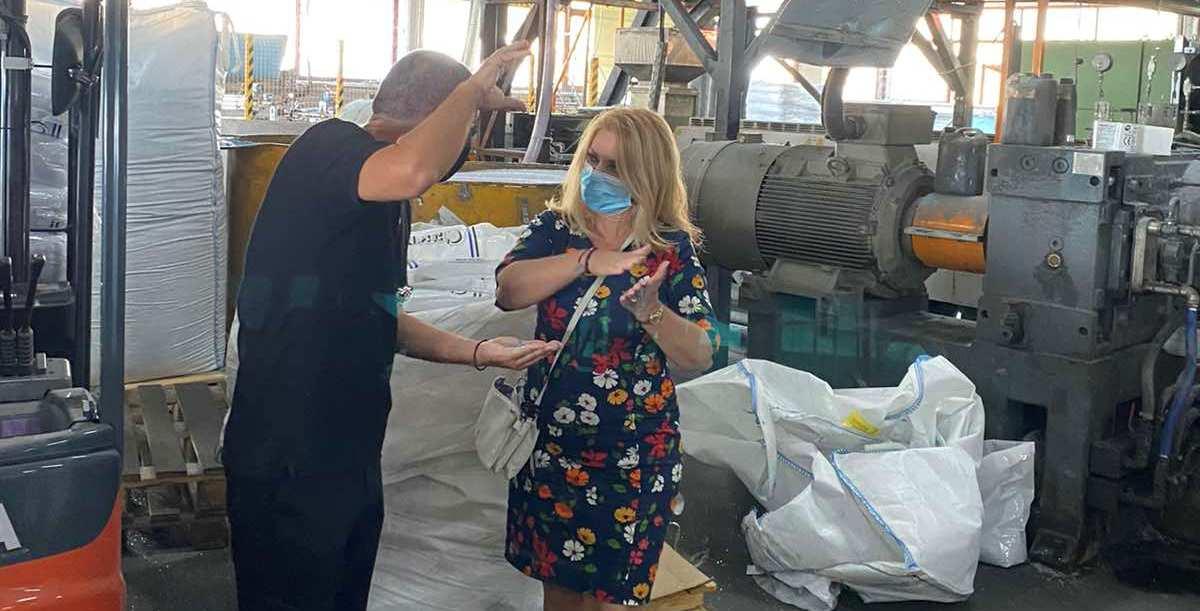 Για τις νέες αρχές κυκλικής οικονομία της RAVAGO ενημερώθηκε η Άννα Μάνη