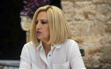 Φώφη Γεννηματά: Η κυβέρνηση ασχολήθηκε με την επικοινωνία και όχι με το σχέδιο αντιμετώπισης του κορονοϊού