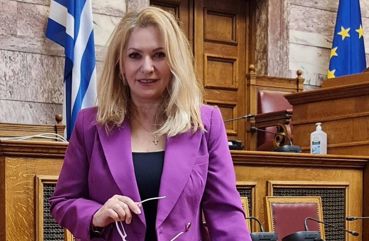 Αντιπρόεδρος της Διαρκούς Επιτροπής Δημόσιας Διοίκησης, Τάξης και Δικαιοσύνης, εξελέγη η Άννα Μάνη