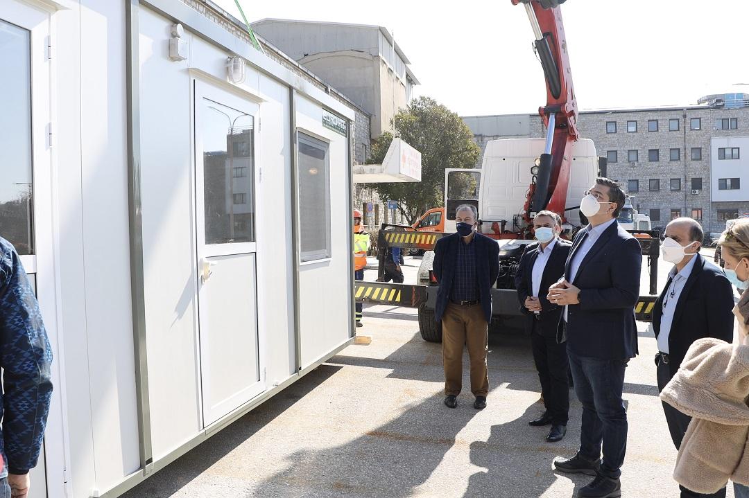 40 «ISO BOX» για τη διενέργεια τεστ Covid, από την Περιφέρεια στα Νοσοκομεία της Κεντρικής Μακεδονίας
