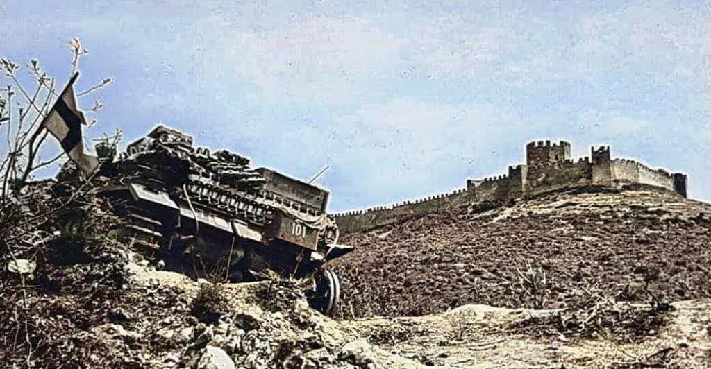 Η Μάχη του Πλαταμώνα τον Απρίλιο του '41 και το μοναχικό 21ο Τάγμα Νέας Ζηλανδίας απέναντι στα Γερμανικά άρματα