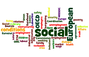 Employment and social affairs word cloud, Wordle.net