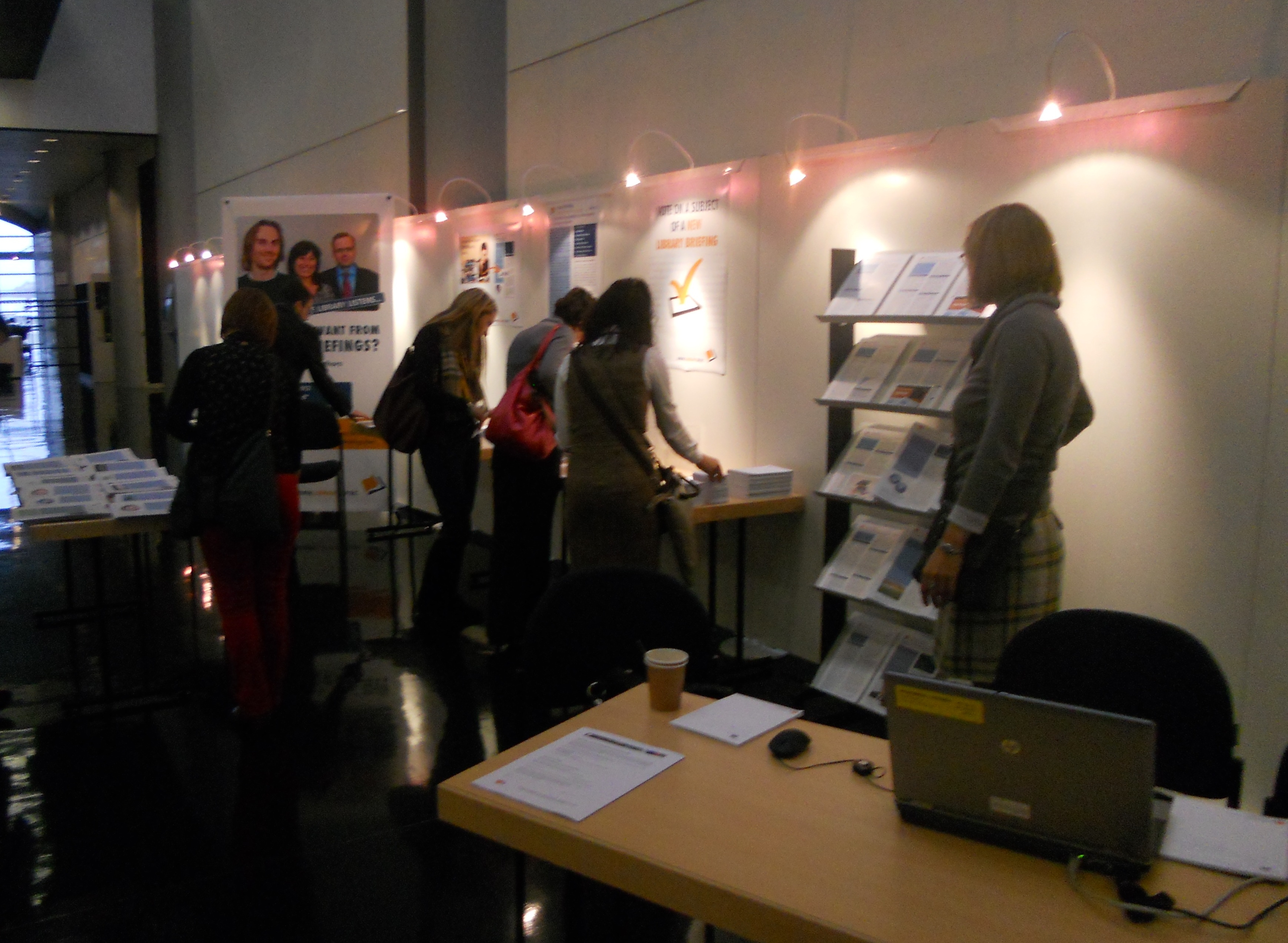 Library stand in Strasbourg 1