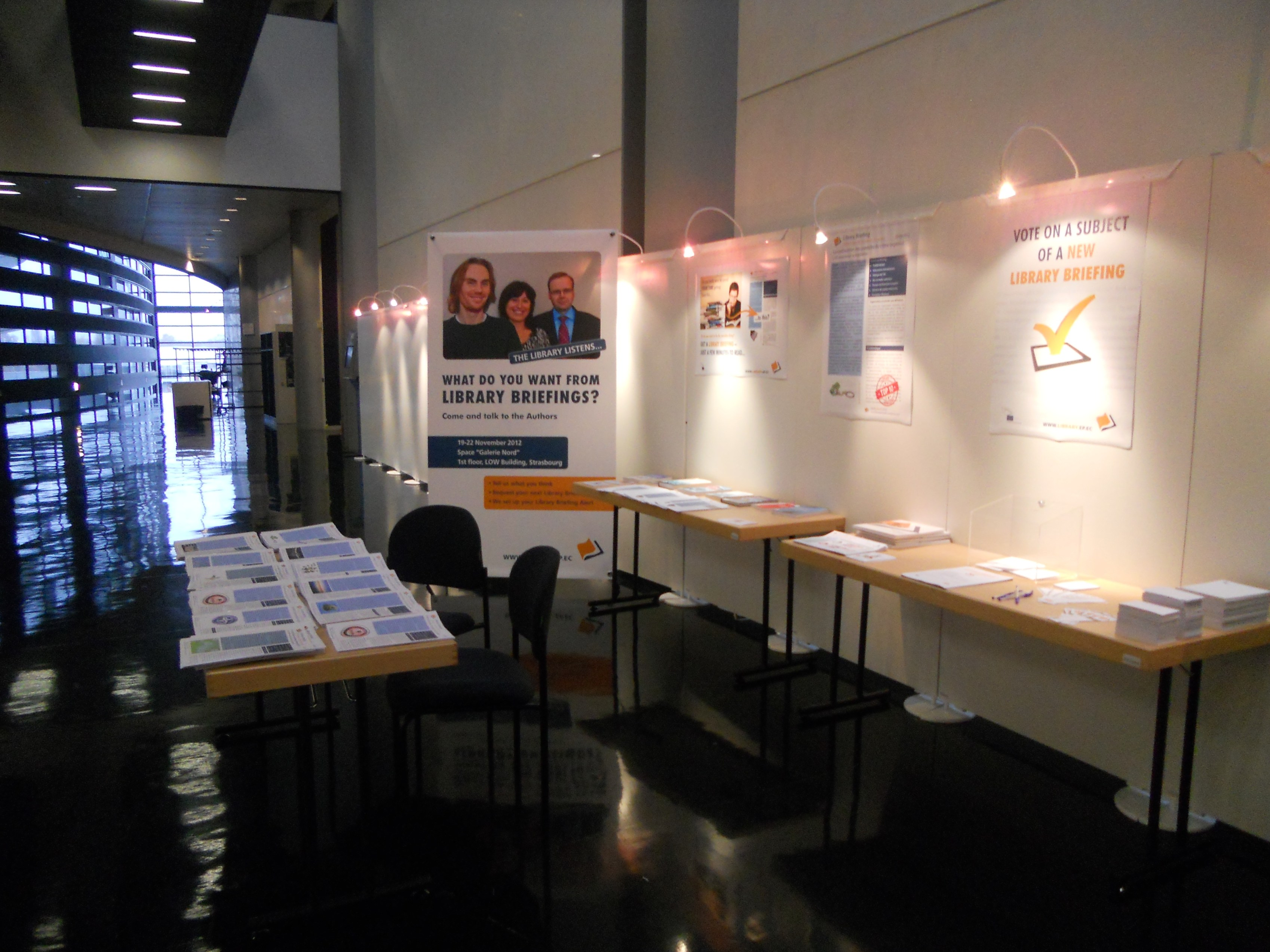 Library stand in Strasbourg 3