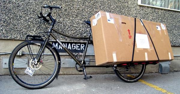 #9: Bikes instead of lorries