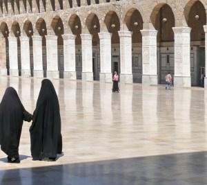 Women in a Mosque