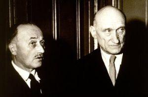 Jean Monnet and Robert Schuman