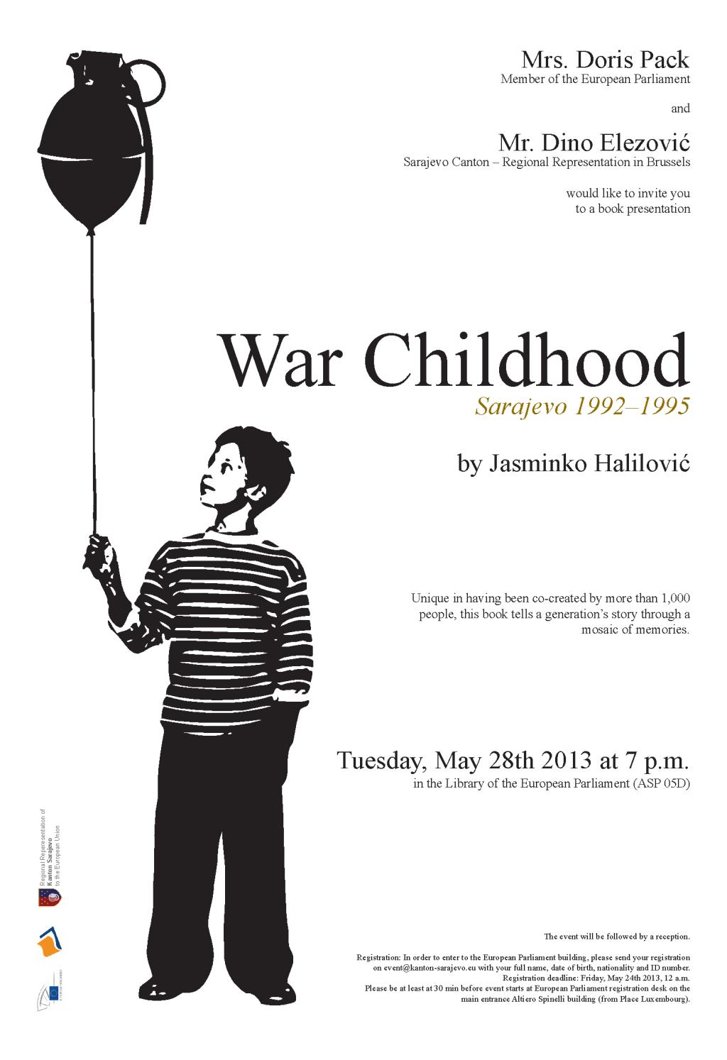 """Growing up under siege: """"War Childhood"""" by Jasminko Halilović"""