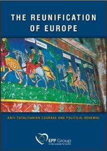The Reunification of Europe book cover