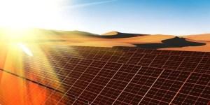 Solar desert