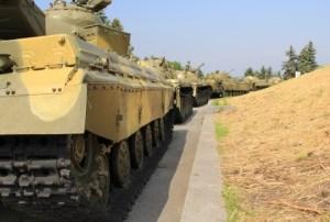 Armoured column