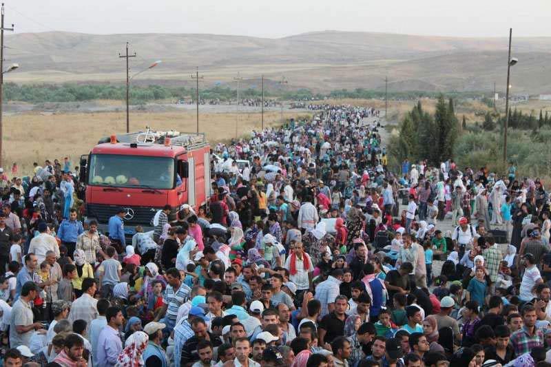EU assistance to Syrian refugees