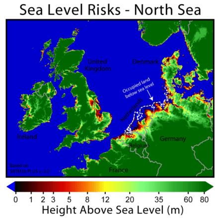 North Sea Level Risks