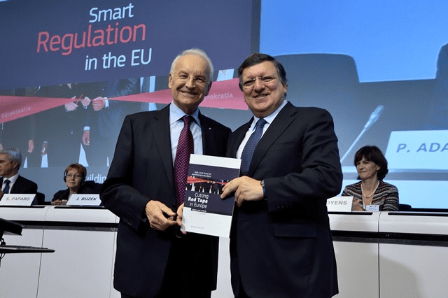 Stoiber Group on administrative burdens in EU law: better law-making in action
