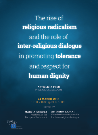 EPRS briefings in preparation for the EP event on inter-religious dialogue
