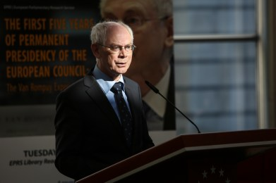"""EPRS roundtable discussion - """"The first five years of permanent presidency of the European Council : The Van Rompuy experience"""""""