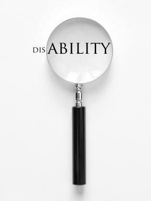 Disability - magnifier glass