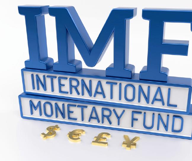 The International Monetary Fund (IMF) : Rebalancing global economic weights