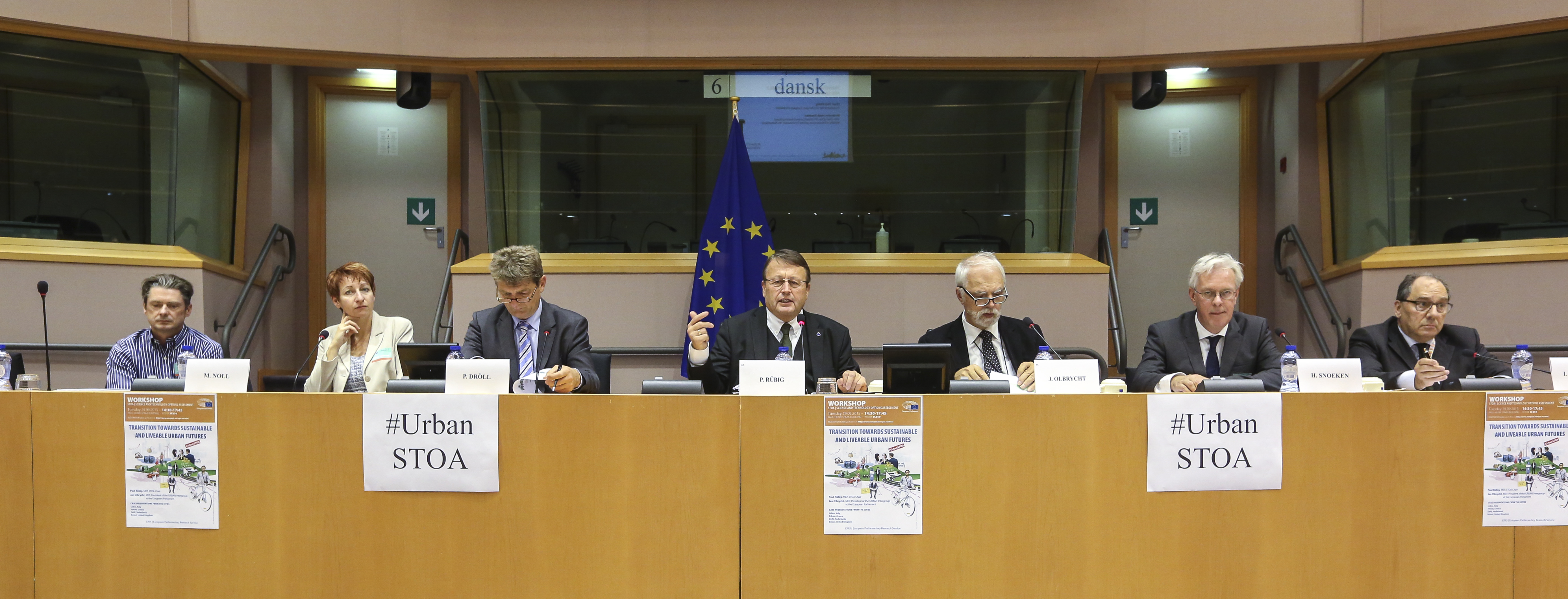 STOA ' Transition towards sustainable and Liveable Urban