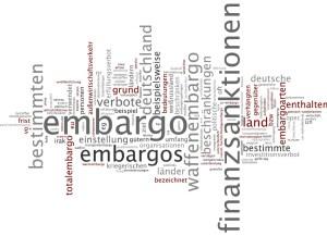 Embargo wordcloud