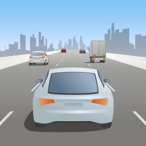 Automated car animation still