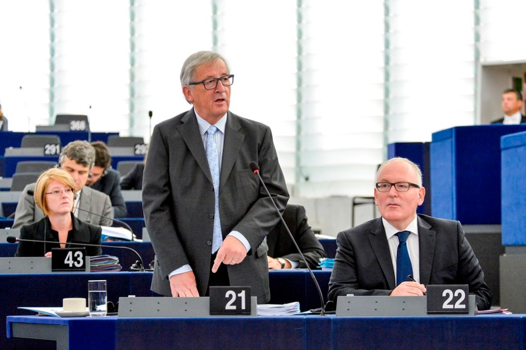 The Juncker Commission's ten priorities: State of play in 2016