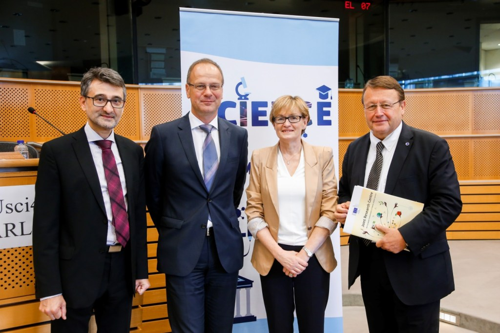 MEPs will be meeting scientists once again in 2016