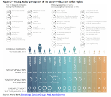 Young Arabs' perception of the security situation in the region