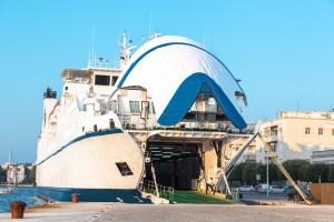 ferry boat in Zadar