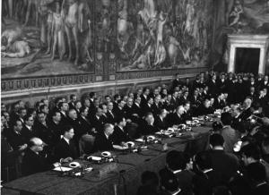 Signature of the Treaties of Rome