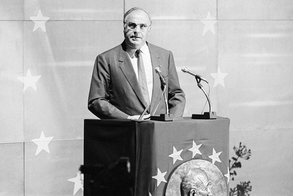 Helmut Kohl, citizen of Europe